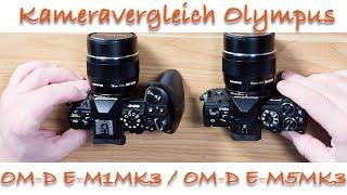 Olympus OM-D E-M1MK3 und Olympus OM-D E-M5MK3 im Vergleich