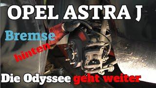Bremsklötze und Scheiben hinten - Astra J - Die Odyssee geht weiter