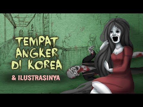 Tempat angker berhantu di korea  amp  ilustrasinya   cerita misteri horor  amp  kartun hantu  horortime