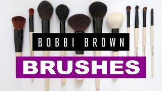 Bobbi Brown Makeup Brushes   My Brush Collection Part II