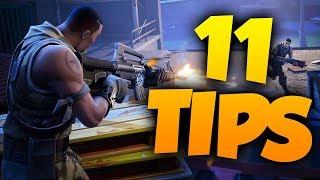 11 TIPS PÅ HUR DU KAN BLI BÄTTRE PÅ FORTNITE! (TIPS & TRICKS)