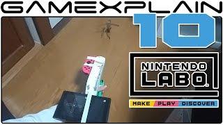 10 Amazing Nintendo Labo Creations! (Toy-Con Garage & Piano) - dooclip.me