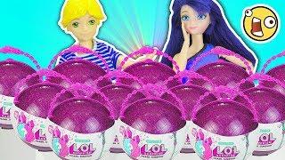 Marinette y Adrien abren LOL Pearl Surprise 2   Cuentos y Juguetes de Adri