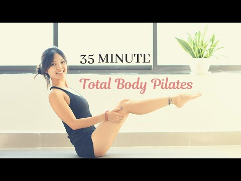 The Phenomenal Fat Loss Full Body Pilates Workout That You Need To Try | 35 Minute At Home Workout