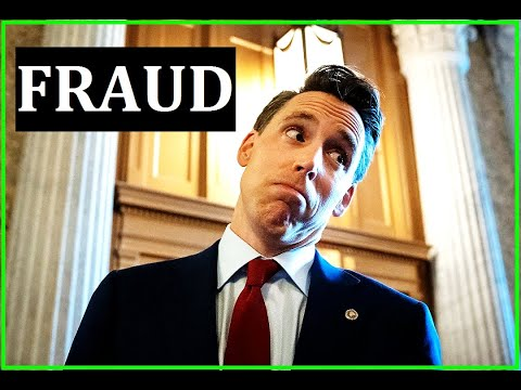 Fake Populist Josh Hawley EXPOSED With Terrible Vote