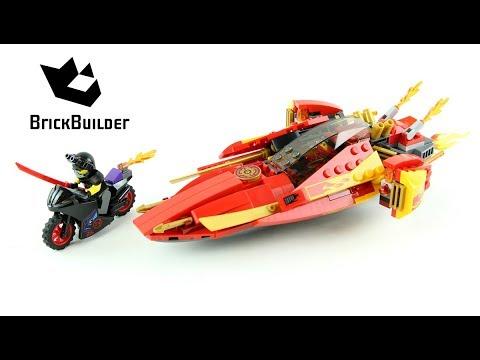 Vidéo LEGO Ninjago 70638 : Le bateau Katana V11