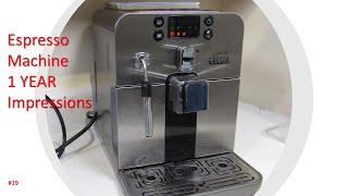 Gaggia Brera Automatic Espresso Machine 1 Year Review – #19