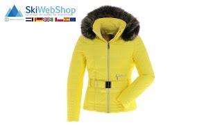 Poivre Blanc, ski-jas, dames, empire geel