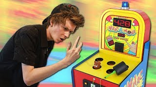 ALMOST BROKE MY FINGER AT THE ARCADE!