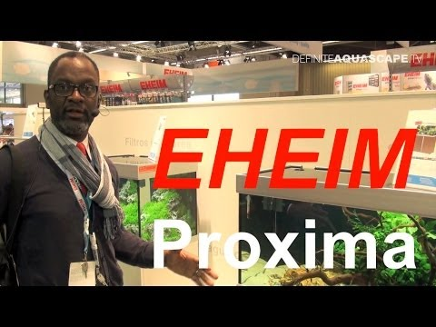 EHEIM Proxima aquarium - presentation at InterZoo 2014