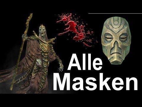 Die goldene Maske für die Augen koreja