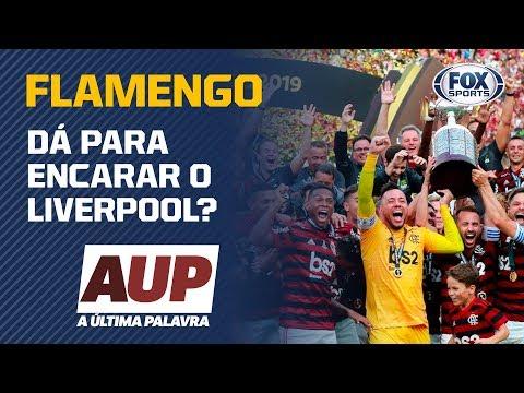 DE IGUAL PARA IGUAL? Para Simon, o Flamengo tem condições de enfrentar o Liverpool