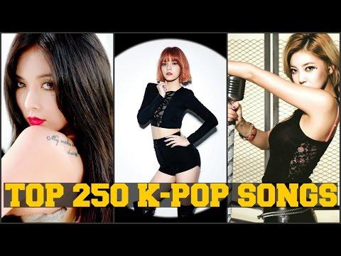 MY TOP 250 FAVORITE K-POP SONGS [PART 1 of 5] FEMALE VERSION