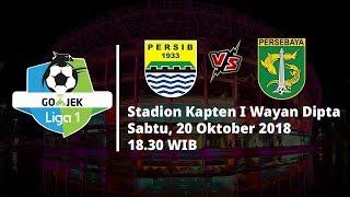 Live Streaming Indosiar Liga 1 Indonesia, Persib Bandung Vs Persebaya Surabaya Pukul 18.30 WIB