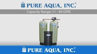 Commercial Water Softener SF 900 Product Video | Made in USA by PURE AQUA, INC.