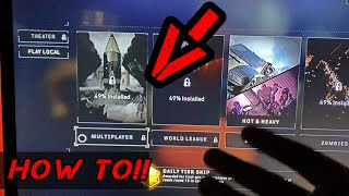 HOW to Unlock PS4 Black Ops 4 Multiplayer!!