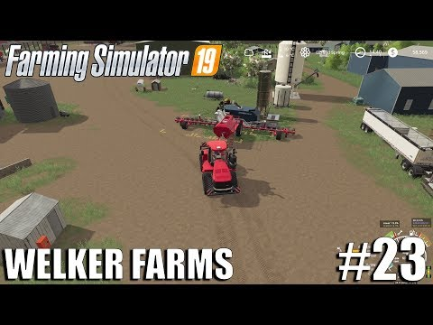WELKER FARMS with SEASONS   FS19 Timelapse #23   Farming Simulator 19 Timelapse