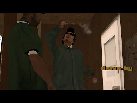 GTA San Andreas - Ryder's Jokes About CJ's Driving