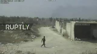 LIVE from humanitarian corridor in Eastern Ghouta as civilian evacuation continues