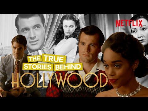 Video trailer för The True Stories Behind Hollywood On Netflix
