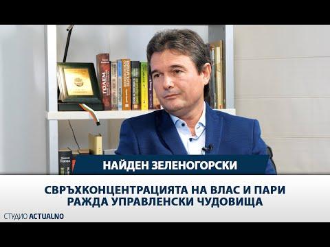 Найден Зеленогорски: Свръхконцентрацията на власт и пари ражда управленски чудовища