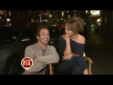 Jennifer Lopez & Alex O'Loughlin Interview on the set of