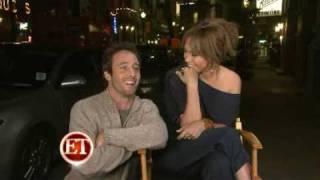 "Jennifer Lopez & Alex O'Loughlin Interview on the set of ""The Back-Up Plan"" - June 2009"