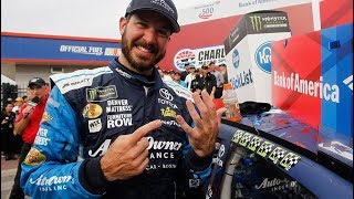 Martin Truex Jr. advances in Playoffs with Charlotte win