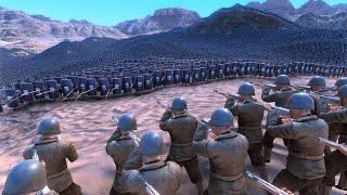 1.000 WW2 US SOLDIERS vs 40.000 SPEARMEN - Ultimate Epic Battle Simulator