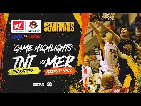 [Sport5]  Highlights: G5: TNT vs Meralco | PBA Governors' Cup 2019 Semifinals