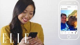 Awkwafina Insta-Stalks Her Crazy Rich Asians Co-Stars   Insta-Stalk   ELLE