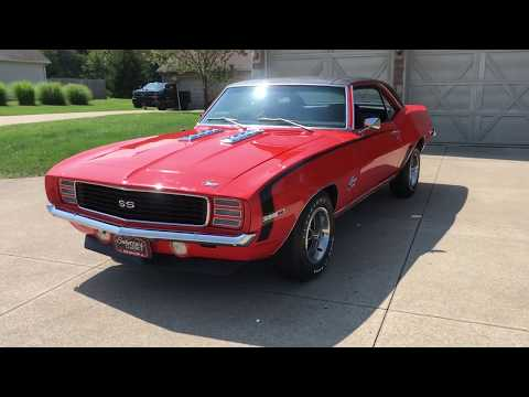 Video of Classic '69 Chevrolet Camaro RS/SS - $52,485.00 Offered by Sabettas Classics, LLC - QLWH