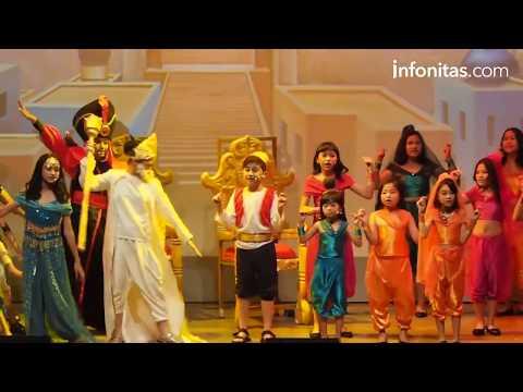 Pentas Musik Teatrikal Arabian Night 'Aladin'