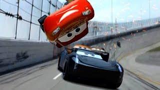 Cars 3 McQueen vs Storm Final Piston Cup Race Flip Scene Remake