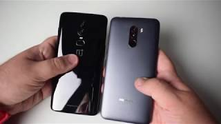 OnePlus 6 vs Pocophone F1 by