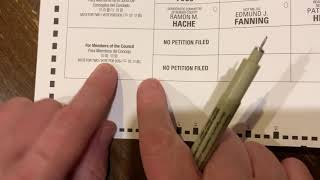 HOW TO FILL OUT YOUR VOTE-BY-MAIL PRIMARY BALLOT