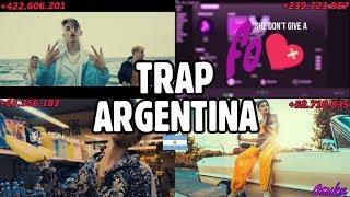 TOP 100 TEMAS TRAP/RAP ARGENTINA MAS VISTOS