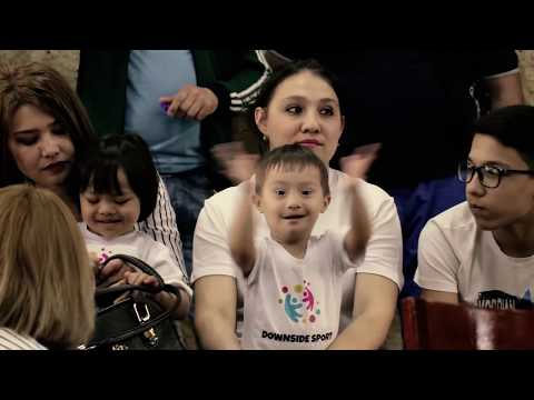 Watch video WORLD DOWN SYNDROME DAY 2019 - Downside Sport Uzbekistan, Uzbekistan - #LeaveNoOneBehind