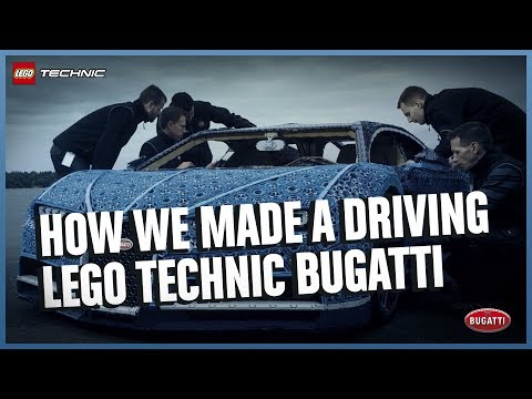 How the LEGO Bugatti Chiron was made (2018)