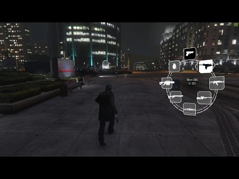 Somebody Hacked Watch Dogs Into GTA V