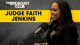 Judge Faith Jenkins Weighs In On Dallas Officer, Social Media, Her Show + More