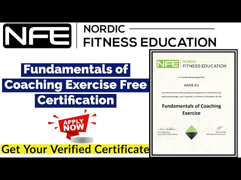 Nordic Fitness Education Free Certification | Fundamentals Of ...