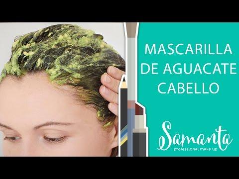 Mascarilla De Aguacate, Aceite y Huevo Para El Cabello