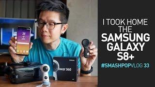I took home the SAMSUNG GALAXY S8+ ! #smashpopVLOG 33