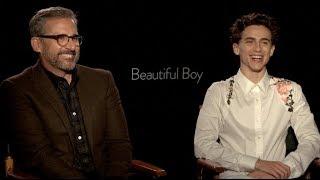 BEAUTIFUL BOY interviews - Timothee Chalamet, Steve Carell, Amy Ryan - Gone Baby Gone
