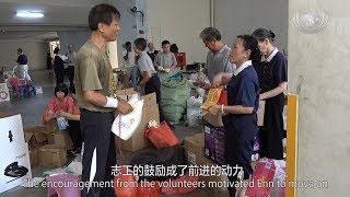 Kidney Patient Gives Back by Volunteering with Tzu Chi
