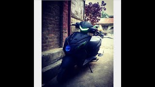 Honda DIO Awesome Modification (matte black)