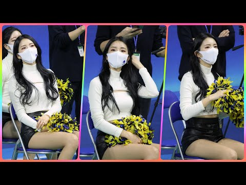 [4K] 치어리더 천온유 직캠 (cheerleader) - 경기 응원모음 @여자농구(우리은행)/201130/…