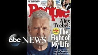 Alex Trebek says he's in 'near remission' after cancer treatment