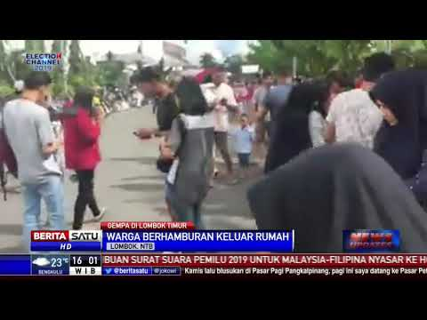 Gempa 5,2 SR Guncang Lombok Timur